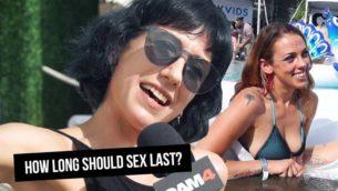 VIDEO: How Long Should Sex Last?