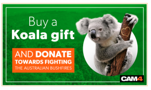 CAM4 Fundraiser to Help Fight the Australian Bushfires
