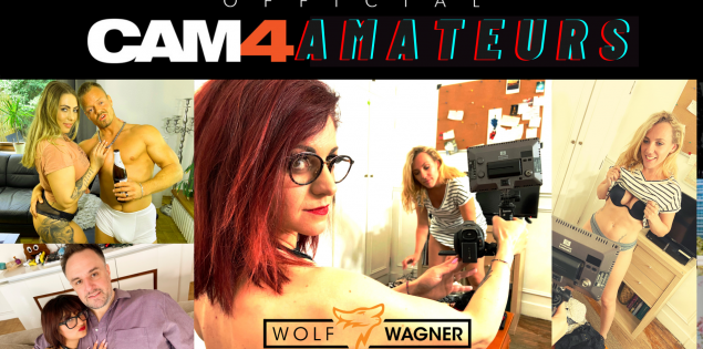CAM4 & Wolf Wagner Network Launch New Adult Series 'CAM4 AMATEURS'