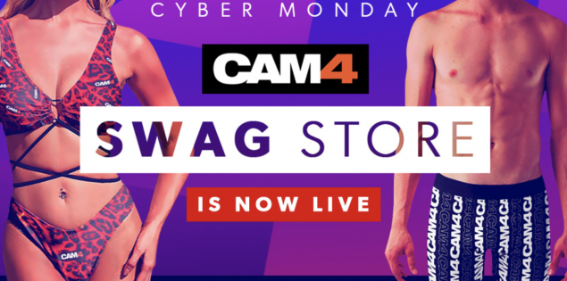 CAM4 Launches Exclusive New Line of Apparel & Merch TODAY!